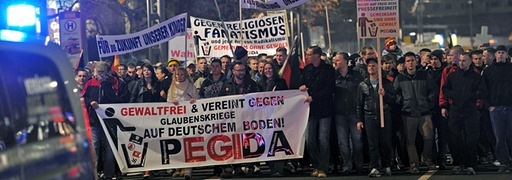 Thousands of Germans have been actively marching in Dresden against Muslim immigration under the group name 'PEGIDA'